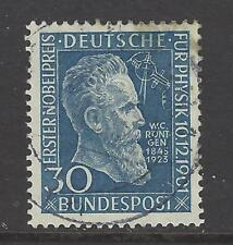 WEST GERMANY,  # 686,  USED,  NOBEL PRIZE, PHYSICS, ROENTGEN