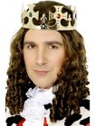 Jewelled King's Royal Crown Adult Mens Smiffys Fancy Dress Costume Accessory