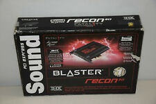 Creative Sound Blaster Recon3D THX PCIE Fatal1ty Pro Sound Card SB1356 Very Good
