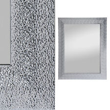 Spiegel Rosi 55x70 cm Wandspiegel Rahmenspiegel in silber Dekospiegel
