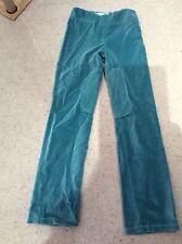 L'enfance Pantalon 10 ans. Aqua VELOURS. Superbe!!! NEW no tags