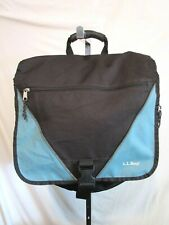 L.L. Bean Large Blue Nylon Laptop Backpack Book Bag