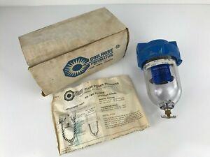 NOS COILHOUSE Pneumatics Air Line Filter Separator Model 8824, 200PSI, 1/2 NPT