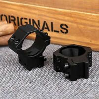 One Pair 30mm Rifle Laser Scope Mount Rings For 11mm Dovetail Rail Hunting Tool