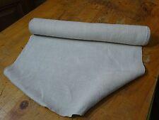 A Homespun Linen Hemp/Flax Yardage 4.5 Yards x 19'' Plain  # 8313