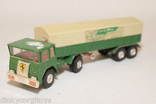 GAMA FAUN TRUCK WITH TRAILER GREEN WITH GREY EXCELLENT CONDITION
