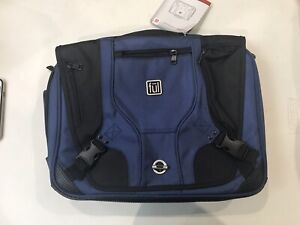 New Ful Messenger Courier Laptop Bag NAVY