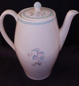 British Anchor Staffordshire Lorraine 1-61 Hostess Coffee Pot c1960 FREE UK P&P
