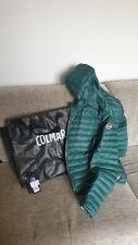 Giacca Colmar verde con cappuccio,originale con cartellino modello 1MQ 1277R