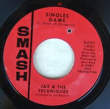 "Jay & Techniques - Singles Game / Baby How Easy Your Heart 7"" 45 Smash"