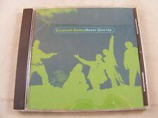 COMMON SENSE Never Give Up RARE 3 Trk DJ Promo CD Single Edit/LP Laguna Beach