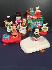 Disney Christmas McDonalds Happy Meal Japan Toys 2002