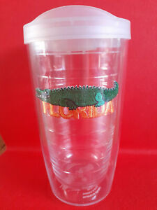 Tervis Florida Insulated Travel Mug /Tumbler With Lid Made In America
