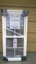 Brand New: Nice White Vinyl Double-Hung Window 26x54 (no nailing flange)