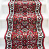 Classic Traditional Red Stair Carpet Long Hallway Carpet Stairs Hall Runner Rugs