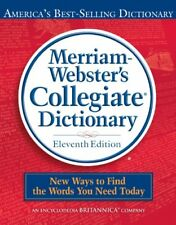 Merriam-Webster Collegiate Dictionary 11th editiondictionary bedruckt/Electronic