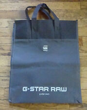 G Star Raw - Shopping Tote Bag - Dark Gray 16x12 NEW!!!