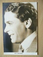 Cinema Star Postcard- JACK BUCHANAN (No. 2 Film Weekly Series, London)