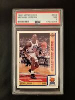 1991 Upper Deck Michael Jordan #452 PSA 7 - Chicago Bulls NICE CARD! 🏀