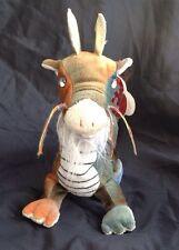 ty ZODIAC DRAGON Beanie Babies - Retired- Pre-Owned 2000 Tie Dye & Gold