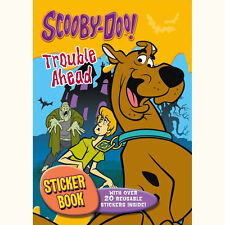 Scooby Doo Cartoon Children's A4 Fun Activity Colouring Book & Stickers