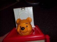 vintage 1988 Winnie the Poo jack in the box plays pop goes the weasle Heritus In