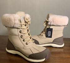 UGG ADIRONDACK BOOT III SAND SIZE 9, WATERPROOF 1095141, WOMAN'S SNOW BOOTS