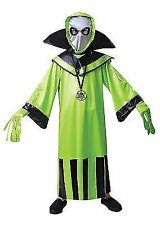Kids Boys Halloween Green Alien Martian Monster Spaceman Fancy Dress Costume Small Age 4 5 6 Size 110-122cm