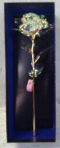 NEW YiWu F286384 Holographic Rose with LED Light