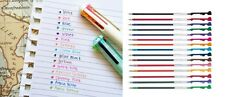 15 x 0.5mm Refills for Pilot Hi-Tec-C Coleto Rollerball Pen, 15 Colors Set