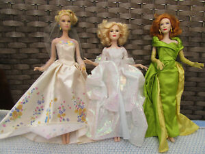 Cinderella live action movie dolls- Cinderella, Fairy Godmother, Lady Tremaine