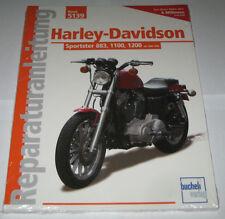 Livre Manuel de Réparation Harley-davidson Sportster 883 1100 1200 1986-92 BD