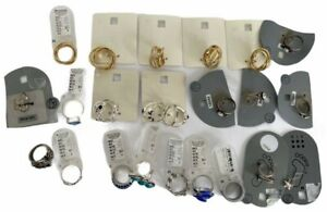 18 x Statement Rings Bundle Mixed Job Lot Jewellery Assorted Sizes NEW