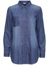 48/11 NEU JDY by ONLY Damen Jeans Hemd JDYJANET LS DENIM POCKET SHIRT Gr.38