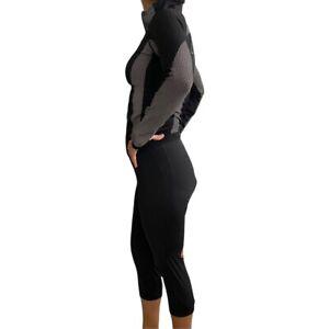 Castelli Women's Cycling Padded Shorts Black Medium And Zip Up Jacket Sz s/m