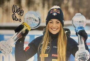 DOROTHEA WIERER Biathlon WM Foto 20x30 signiert IN PERSON Autogramm signed 15