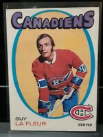 1971 O-Pee-Chee Hockey Guy LaFleur ROOKIE RC #148