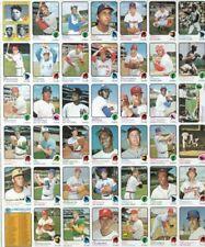 1973 Topps Baseball Commons Semis 529- 660 VG/EX  5th series High #