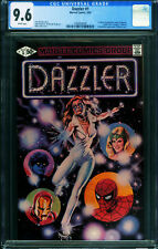 Dazzler #1 1981- CGC 9.6 White pages DISCO 1994929005