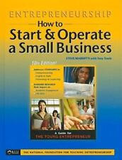 ENTREPRENEURSHIP HOW TO START OPERATE A SMALL BUSINESS 10TH By Mariotti **Mint**