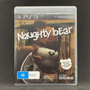 Naughty Bear Playstation3 (PS3) Complete | FREE TRACKED POST