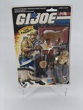 Vintage 1988 G.I. Joe GNAWGAHYDE Dreadnok Poacher Figure Sealed