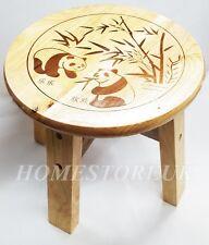 25cm PANDA in legno massello in legno verniciati Passo Rotondo Sgabello per bambini sedile 74020