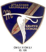 Aviazione Legionaria Gruppo Cicogne OMS Operazioni Militari in Spagna distintivo