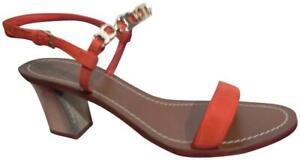 Tory Burch Gemini Link Block Heel Sandals Size 9 Retail $249