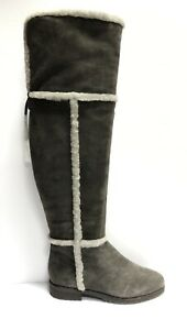 Frye Womens Tamara Shearling Over The Knee Boot, Size 8.5 M
