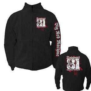 Stehkragenjacke Hells Angels 81 Red&White Big Red Machine AC/AB 666 MC 1% S-XXL