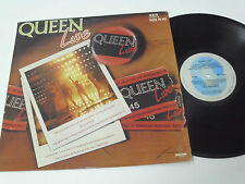 QUEEN Live - 1985 BRAZIL LP - UNIQUE album - UNIQUE sleeve - VERY RARE Near Mint