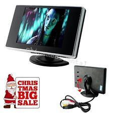 "Mini 3.5"" Digital TFT LCD Screen Rear View Monitor F/ Car Reverse Camera DVD VCD"