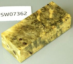 Rosskastanie klar stabilisiert | 114x46x30 | puq stabwood | buckeye burl 7362